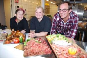 Fra venstre: Line Merethe Hansen, Renate Johannessen og Karl Martin Amundsen