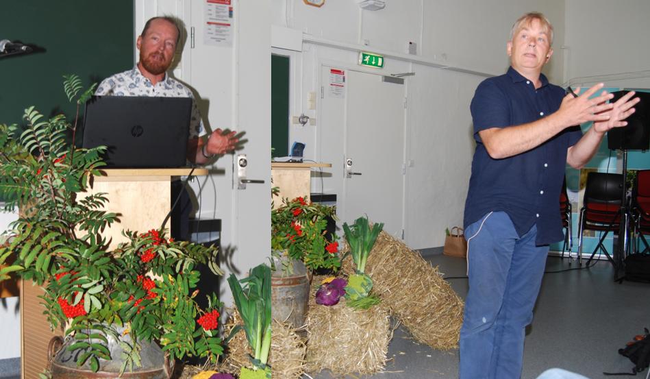 Christian Anton Smedshaug og Knut Storberget var helt enige om at kua ikke er et hovedproblem for klimaet